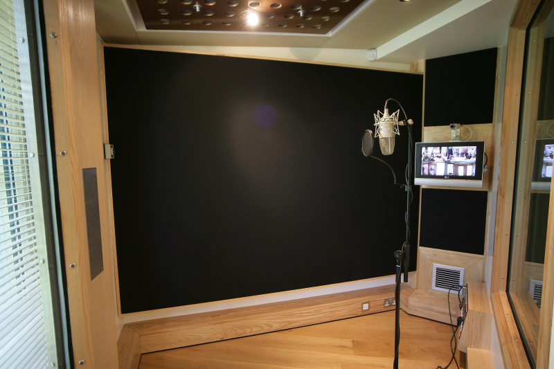 Ten21 Recording Studio Vocal Booth