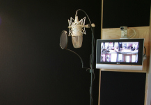 Recording Studio Vocal Booth